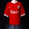 1998-00 Liverpool Home Shirt Heggem #14 XL