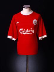 1998-00 Liverpool Home Shirt L