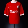 1998-00 Liverpool Home Shirt Owen #10 S