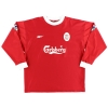 1998-00 Liverpool Home Shirt Song #4 L/S XL