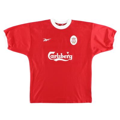1998-00 Liverpool Reebok Home Shirt L