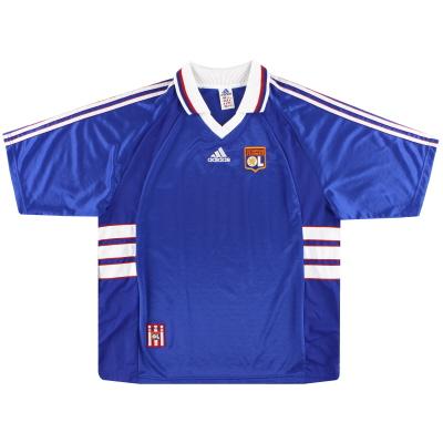 1998-00 Lyon adidas Away Shirt XL