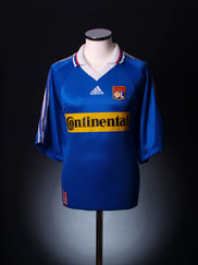 1998-00 Lyon Away Shirt XL
