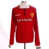 1998-00 Manchester United Home Shirt Beckham #7 L/S XXL