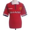 1998-00 Manchester United Home Shirt Solskjaer #20 XL
