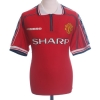 1998-00 Manchester United Home Shirt Butt #8 XL