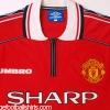 1998-00 Manchester United Home Shirt XL.Boys