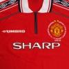 1998-00 Manchester United 'Treble Winners' Home Shirt L