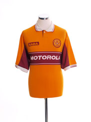 1998-00 Motherwell Home Shirt L