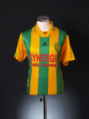 1998-00 Nantes Home Shirt L