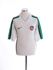 1998-00 Nigeria Away Shirt M