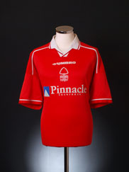 1998-00 Nottingham Forest Home Shirt XXL