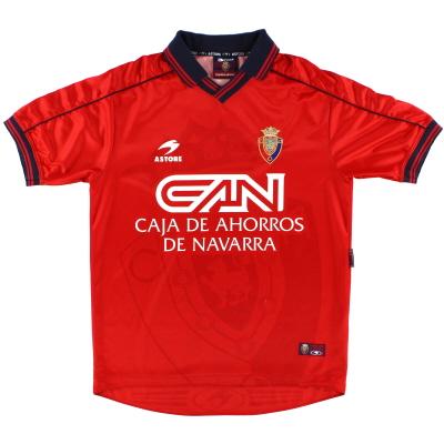 1998-00 Osasuna Home Shirt M