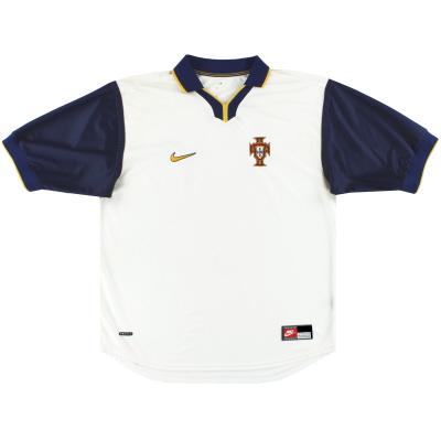 1998-00 Portugal Nike Away Shirt XL