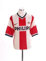 1998-00 PSV Home Shirt L
