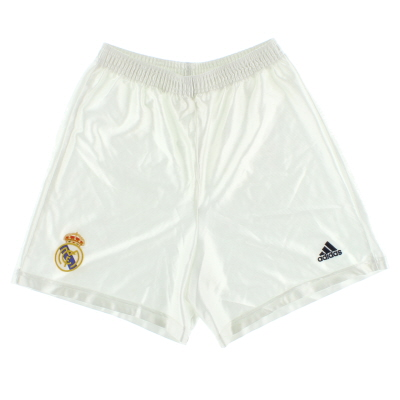 1998-00 Real Madrid Basic Home Shorts Y