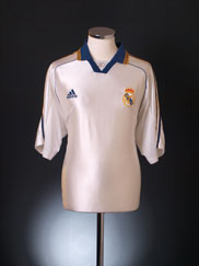 1998-00 Real Madrid Home Shirt XL