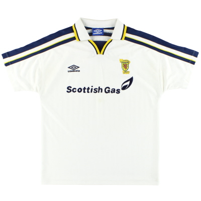 1998-00 Scotland Umbro Training Shirt L