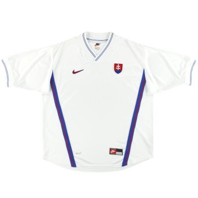 1998-00 Slovakia Nike Home Shirt XXL
