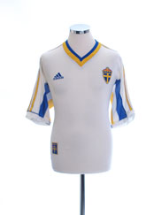 1998-00 Sweden Away Shirt