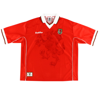 1998-00 Wales Home Shirt *Mint* XXXL