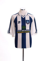 Retro West Bromwich Albion Shirt