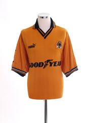 1998-00 Wolves Home Shirt M