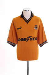1998-00 Wolves Home Shirt L