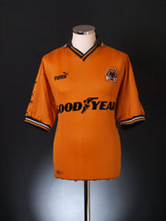 1998-00 Wolves Home Shirt S