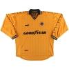 1998-00 Wolves Puma Home Shirt Akinbiyi #10 L/S XL