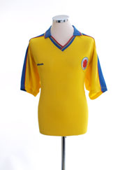 1998-01 Colombia Home Shirt L