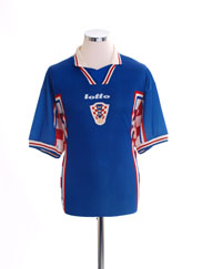 1998-01 Croatia Away Shirt L