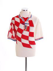1998-01 Croatia Home Shirt XXL