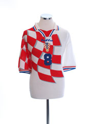 1998-01 Croatia Home Shirt #8 XXL
