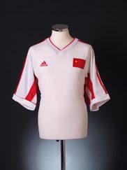 1998-2000 China Home Shirt L