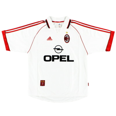 1998-99 AC Milan Away Shirt L