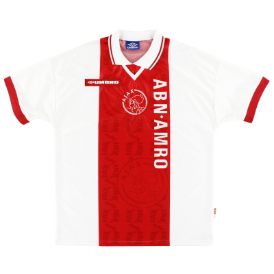 1998-99 Ajax Umbro Home Shirt XL