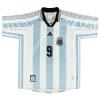 1998-99 Argentina Home Shirt Batistuta #9 M