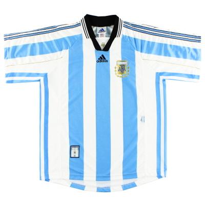 1998-99 Argentina Home Shirt L