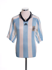 1998-99 Argentina Home Shirt L.Boys
