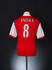 1998-99 Arsenal Home Shirt Anelka #8 S