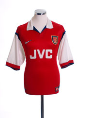 1998-99 Arsenal Home Shirt L.Boys