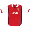 1998-99 Arsenal Nike Home Shirt Wenger #1 L