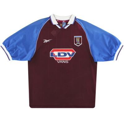 1998-99 Aston Villa Reebok Home Shirt XXL