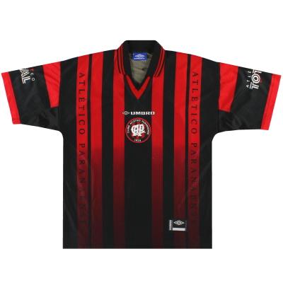 1998-99 Atletico Paranaense Umbro Home Shirt L
