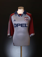 1998-99 Bayern Munich Champions League Shirt L