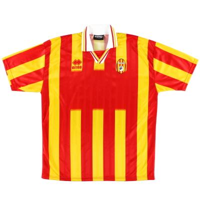 1998-99 Benevento Match Issue Home Shirt #18 XXL
