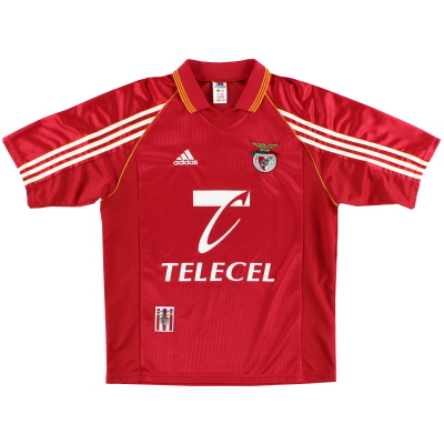 1998-99 Benfica Home Shirt *Mint* M