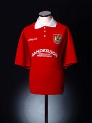 1998-99 Bristol City Home Shirt *Mint* XL