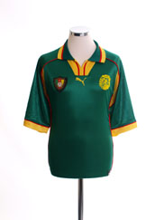 1998-99 Cameroon Home Shirt *Mint* L